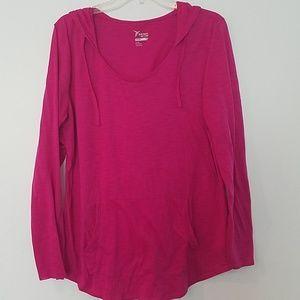Old Navy active hooded tee shirt
